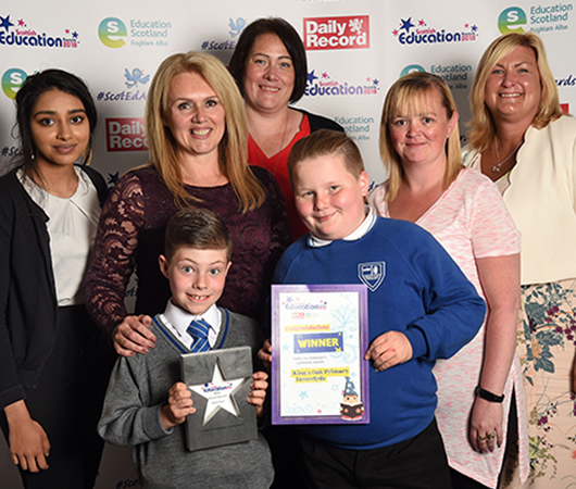 Family and Community Learning Award - King's Oak Primary School, Inverclyde Council