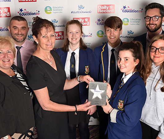 Gaelic Education Award - Greenfaulds High School, North Lanarkshire Council