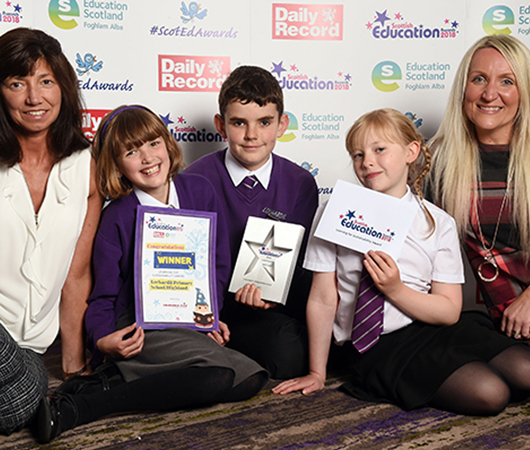 Learning for Sustainability Award - Lochardil Primary School, Highland Council