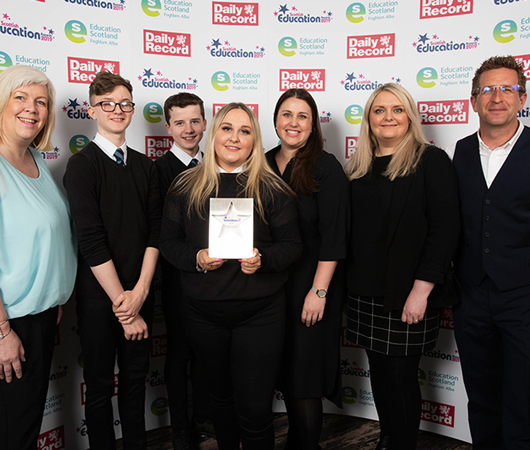 Employability and Creativity Skills Across Learning Award - Newbattle High School, Midlothian Council