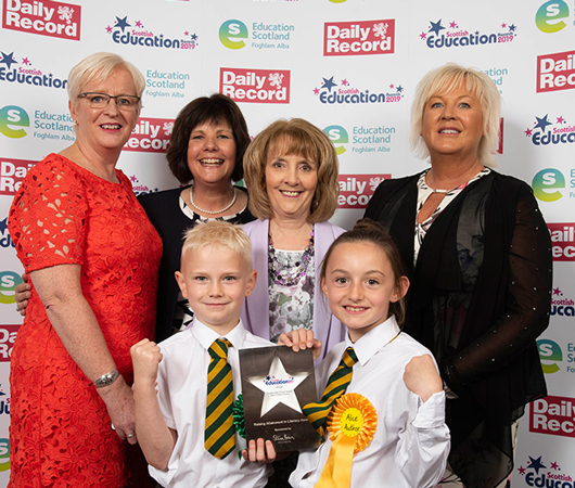 Raising Attainment in Literacy Award - Knightsridge Primary School, West Lothian Council