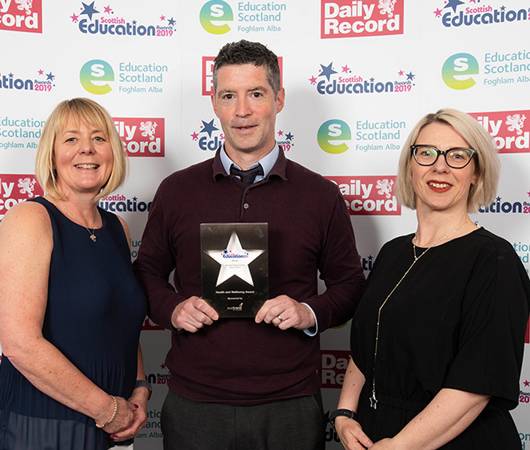 Health and Wellbeing Award – Burnside Primary School, Angus Council